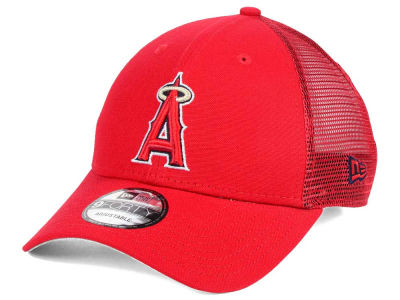 Los Angeles Angels MLB Team Trucker Patch 9FORTY Snapback Cap