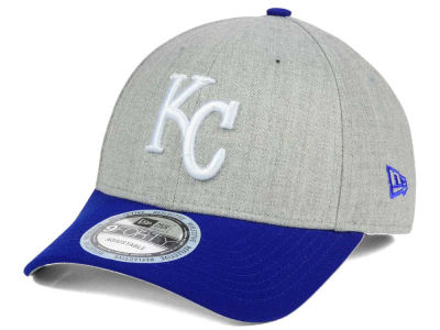 Kansas City Royals New Era MLB Heather Hit 9FORTY Cap