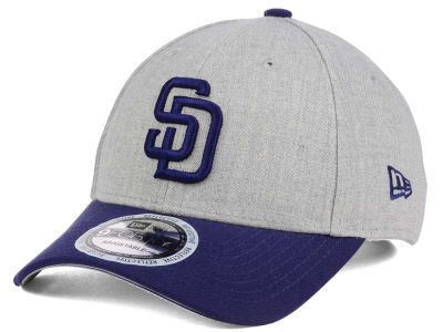 San Diego Padres New Era MLB Heather Hit 9FORTY Cap