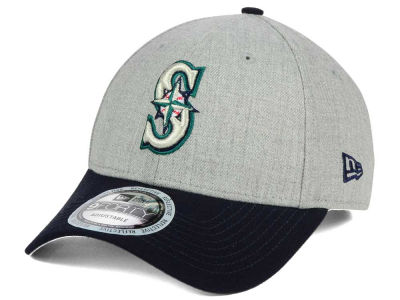Seattle Mariners New Era MLB Heather Hit 9FORTY Cap