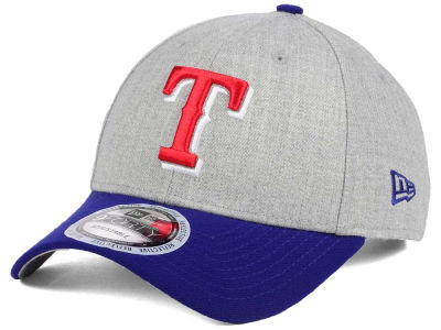 Texas Rangers New Era MLB Heather Hit 9FORTY Cap
