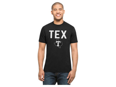 Texas Rangers MLB Men's Splitter Cutoff T-Shirt