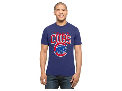 Chicago Cubs MLB Men's Splitter Blockhouse T-Shirt