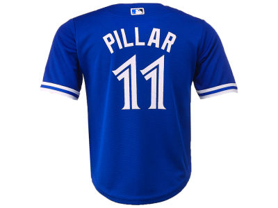 Toronto Blue Jays Kevin Pillar Majestic MLB Toddler Replica Player Cool Base Jersey