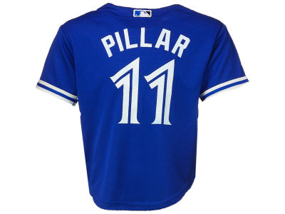 Toronto Blue Jays Kevin Pillar Majestic MLB Kids Player Cool Base Replica Jersey