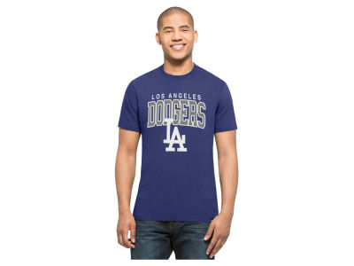 Los Angeles Dodgers MLB Men's Splitter Blockhouse T-Shirt