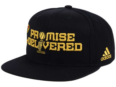 Cleveland Cavaliers adidas NBA Promise Delivered Snapback Cap
