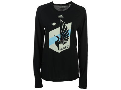 Minnesota United FC adidas MLS Women's Primary Logo Long Sleeve T-Shirt