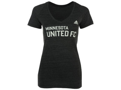 Minnesota United FC adidas MLS Women's Wordmark Logo T-shirt