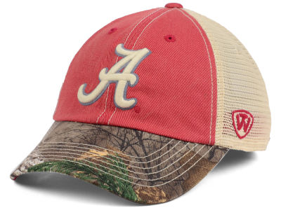 Alabama Crimson Tide Top of the World NCAA Camo 2 Snapback Cap