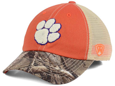 Clemson Tigers Top of the World NCAA Camo 2 Snapback Cap