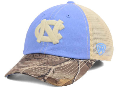 North Carolina Tar Heels Top of the World NCAA Camo 2 Snapback Cap
