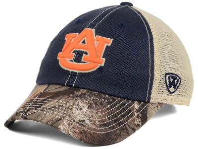 Auburn Tigers Top of the World NCAA Camo 2 Snapback Cap