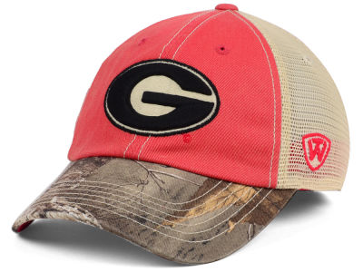 Georgia Bulldogs Top of the World NCAA Camo 2 Snapback Cap