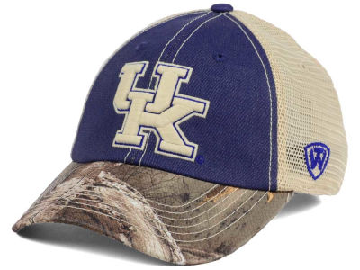 Kentucky Wildcats Top of the World NCAA Camo 2 Snapback Cap