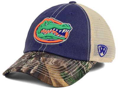 Florida Gators Top of the World NCAA Camo 2 Snapback Cap