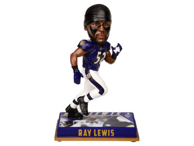"Baltimore Ravens Ray Lewis 8"" Retired Player Bobbleheads"