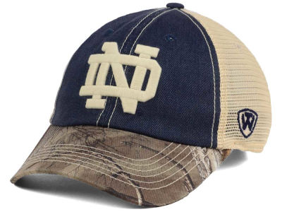 Notre Dame Fighting Irish Top of the World NCAA Camo 2 Snapback Cap