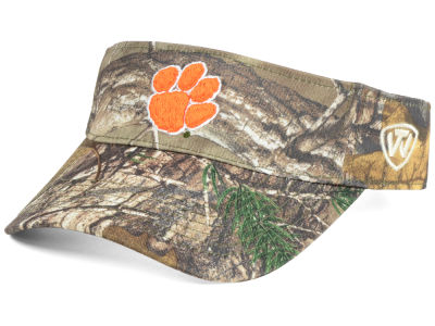 Clemson Tigers Top of the World NCAA RTX Visor