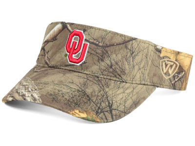 Oklahoma Sooners Top of the World NCAA RTX Visor