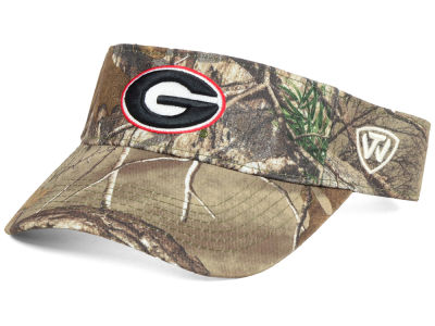 Georgia Bulldogs Top of the World NCAA RTX Visor