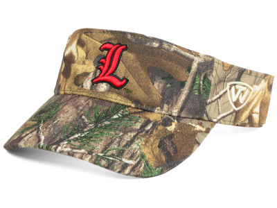 Louisville Cardinals Top of the World NCAA RTX Visor