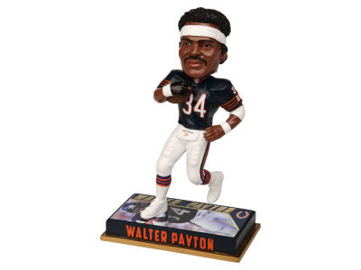 "Chicago Bears Walter Payton Forever Collectibles 8"" Retired Player Bobbleheads"