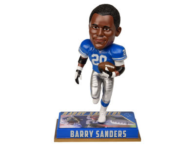 "Detroit Lions Barry Sanders 8"" Retired Player Bobbleheads"