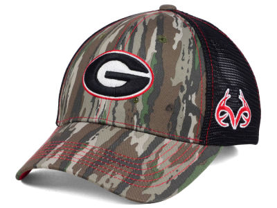 Georgia Bulldogs Top of the World NCAA Prey Mesh Cap
