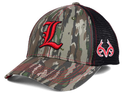 Louisville Cardinals Top of the World NCAA Prey Mesh Cap