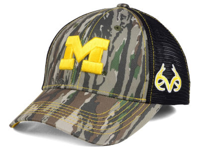 Michigan Wolverines Top of the World NCAA Prey Mesh Cap
