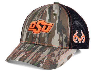 Oklahoma State Cowboys Top of the World NCAA Prey Mesh Cap