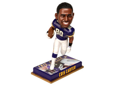 "Minnesota Vikings Cris Carter Forever Collectibles 8"" Retired Player Bobbleheads"