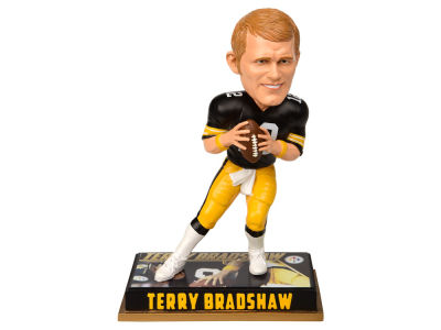 "Pittsburgh Steelers Terry Bradshaw 8"" Retired Player Bobbleheads"