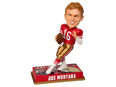 "San Francisco 49ers Joe Montana 8"" Retired Player Bobbleheads"