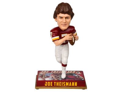 "Washington Redskins Joe Theismann Forever Collectibles 8"" Retired Player Bobbleheads"
