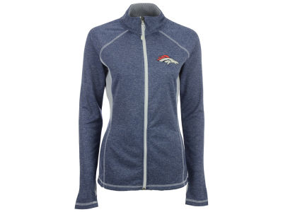 Denver Broncos Majestic NFL Women's Club Pass Full Zip Jacket
