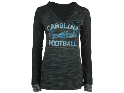 Carolina Panthers Majestic NFL Women's Lead Play Long Sleeve T-Shirt