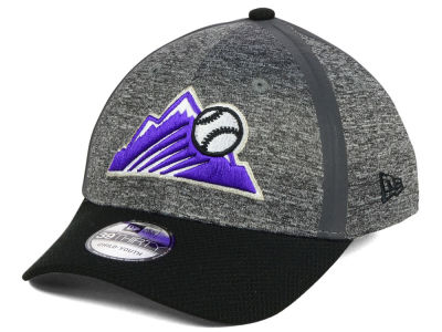 Colorado Rockies New Era MLB Youth Clubhouse 39THIRTY Cap