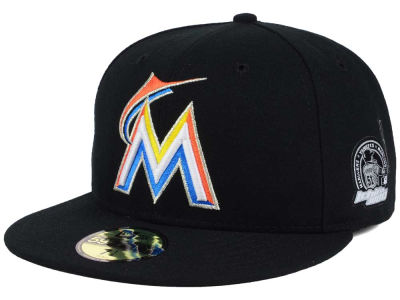 Miami Marlins New Era MLB Ichiro AC Patch 59FIFTY Cap
