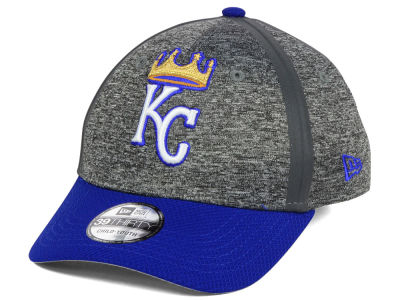 Kansas City Royals New Era MLB Youth Clubhouse 39THIRTY Cap
