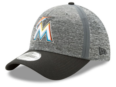 Miami Marlins New Era 2017 MLB Youth Clubhouse 39THIRTY Cap