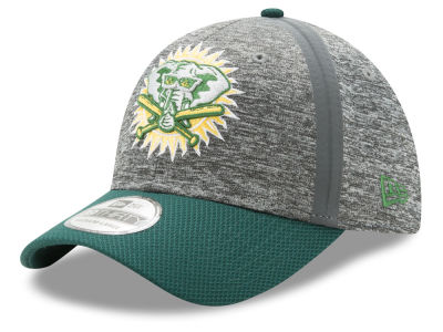 Oakland Athletics New Era MLB Youth Clubhouse 39THIRTY Cap