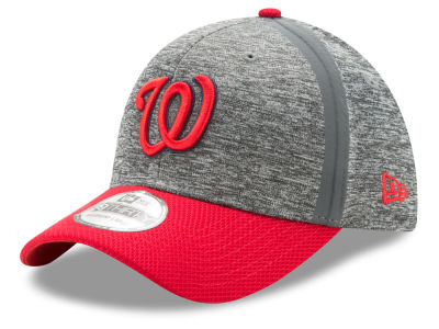 Washington Nationals New Era MLB Youth Clubhouse 39THIRTY Cap