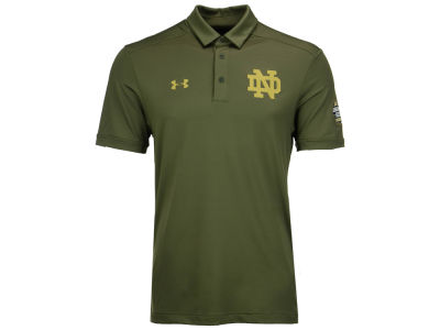 Notre Dame Fighting Irish Under Armour NCAA Men's Shamrock Series Polo
