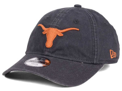 Texas Longhorns New Era NCAA Youth Core Shore 9TWENTY Strapback Cap