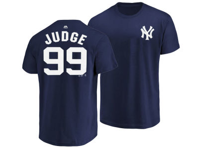 New York Yankees Aaron Judge Majestic MLB Men's Official Player T-Shirt