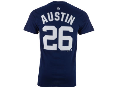 New York Yankees Tyler Austin  Majestic MLB Men's Official Player T-Shirt