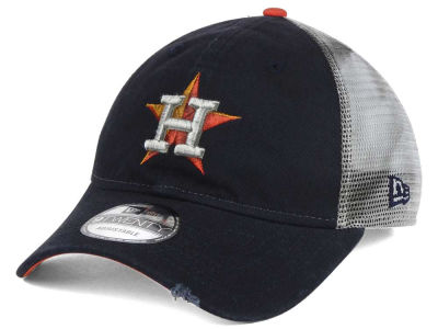 Houston Astros New Era MLB Rustic Trucker 9TWENTY Snapback Cap