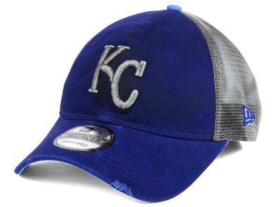Kansas City Royals New Era MLB Rustic Trucker 9TWENTY Snapback Cap